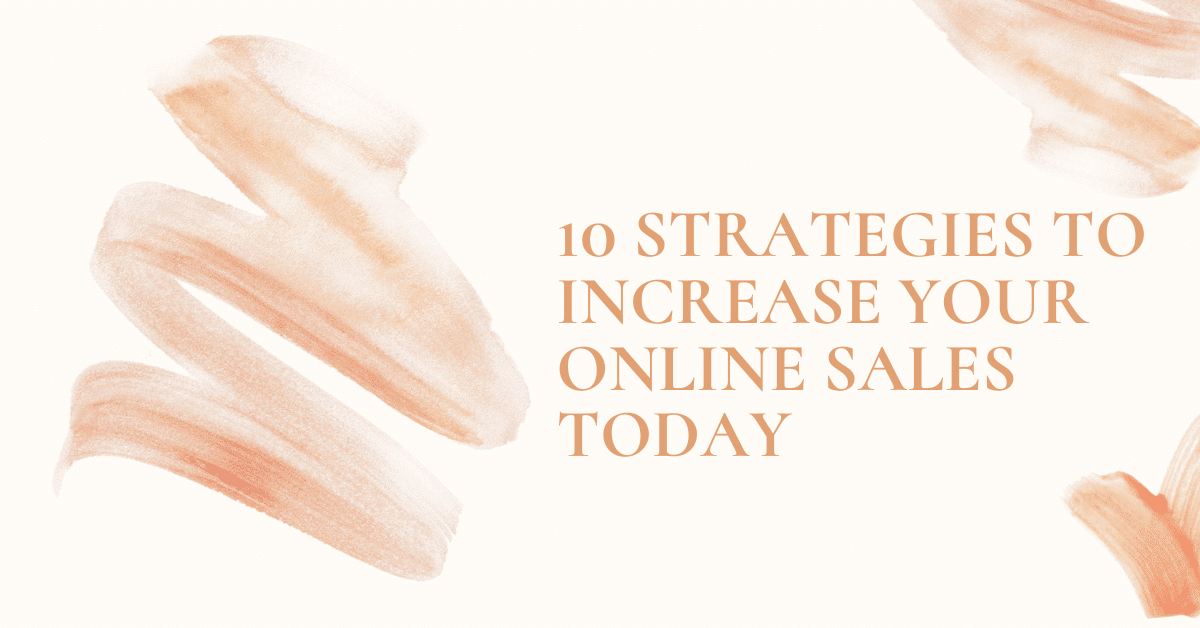 Strategy to increase sales